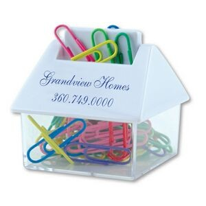 House Paper Clip Dispenser